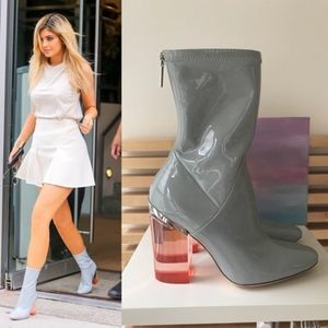 Dior Lucite Boots